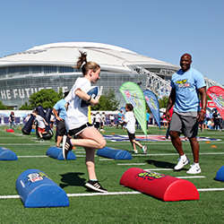2018 Draft Fuel Up to Play 60 Touchdown Celebration