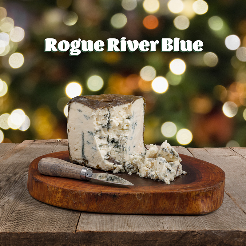 Rogue Creamery's blue cheese