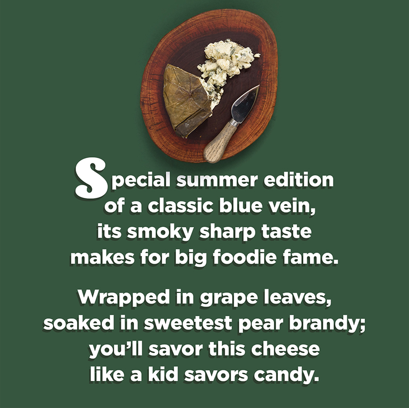 Rogue Creamery's blue cheese poem