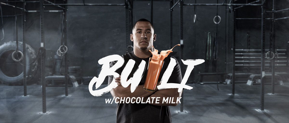 Tyrone Crawford is a Chocolate Milk Believer