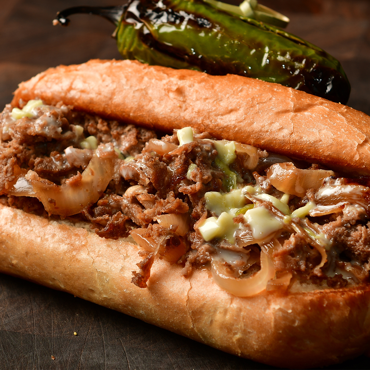 cowboy cheesesteak