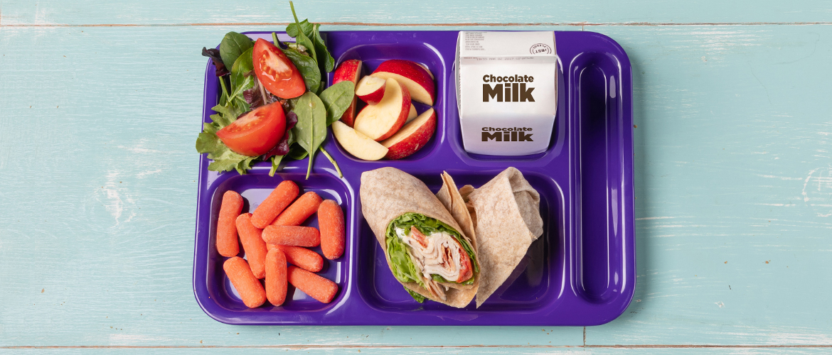 The Evolution – and Improvement – of School Meals