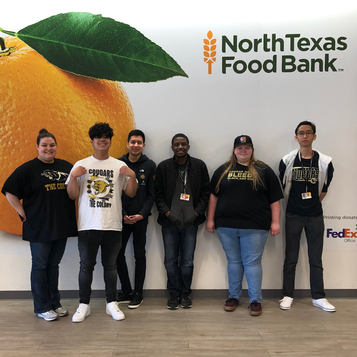 Texas High School Students Accept the Challenge to Combat Food Insecurity