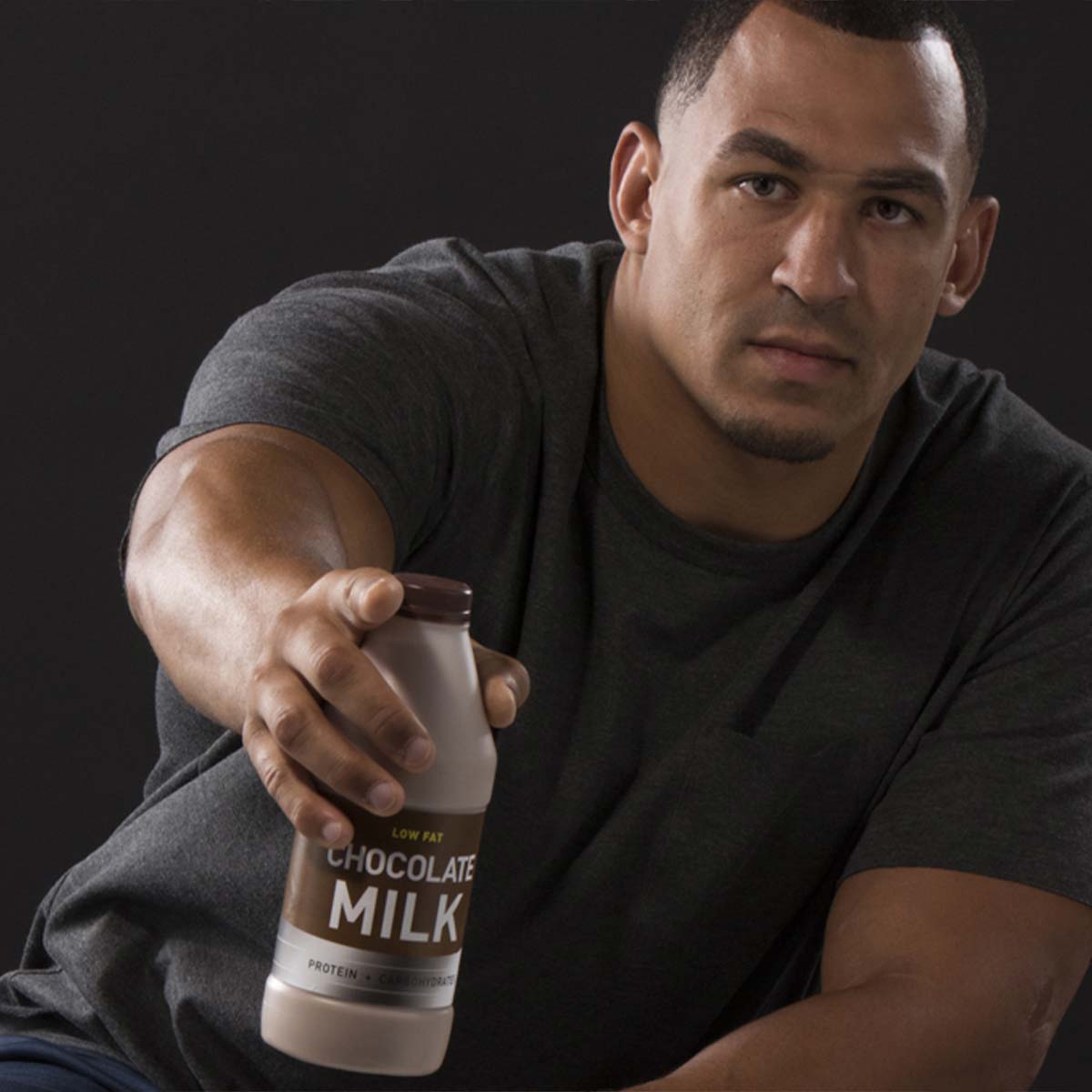 Tyrone Crawford on Why He Chooses Chocolate Milk