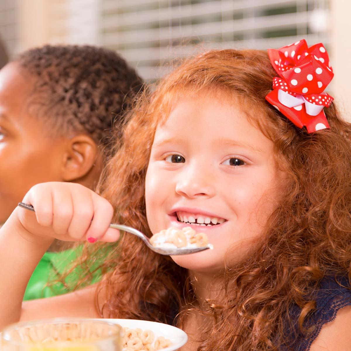 School Breakfast Helps Combat Hunger