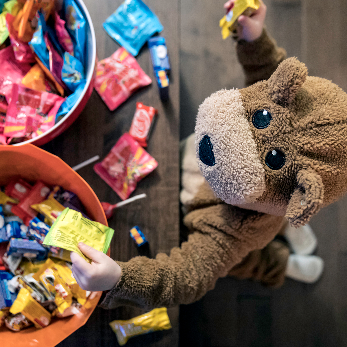 Tackle the Halloween Candy Monster