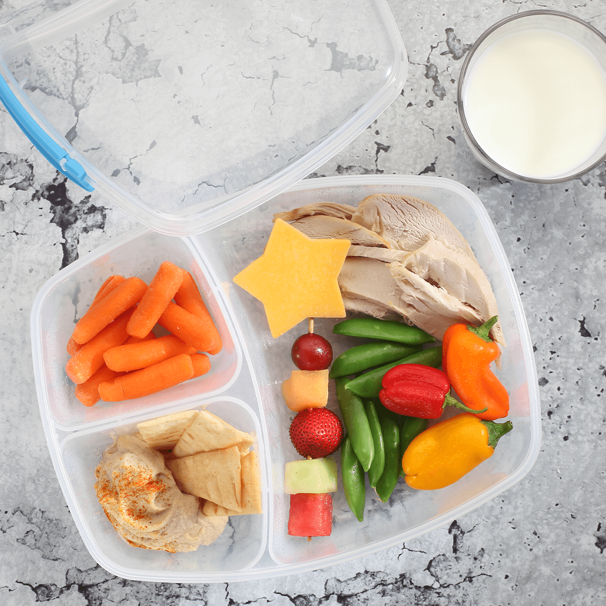 On-the-Go Meal Box