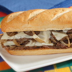 french onion beef sandwich