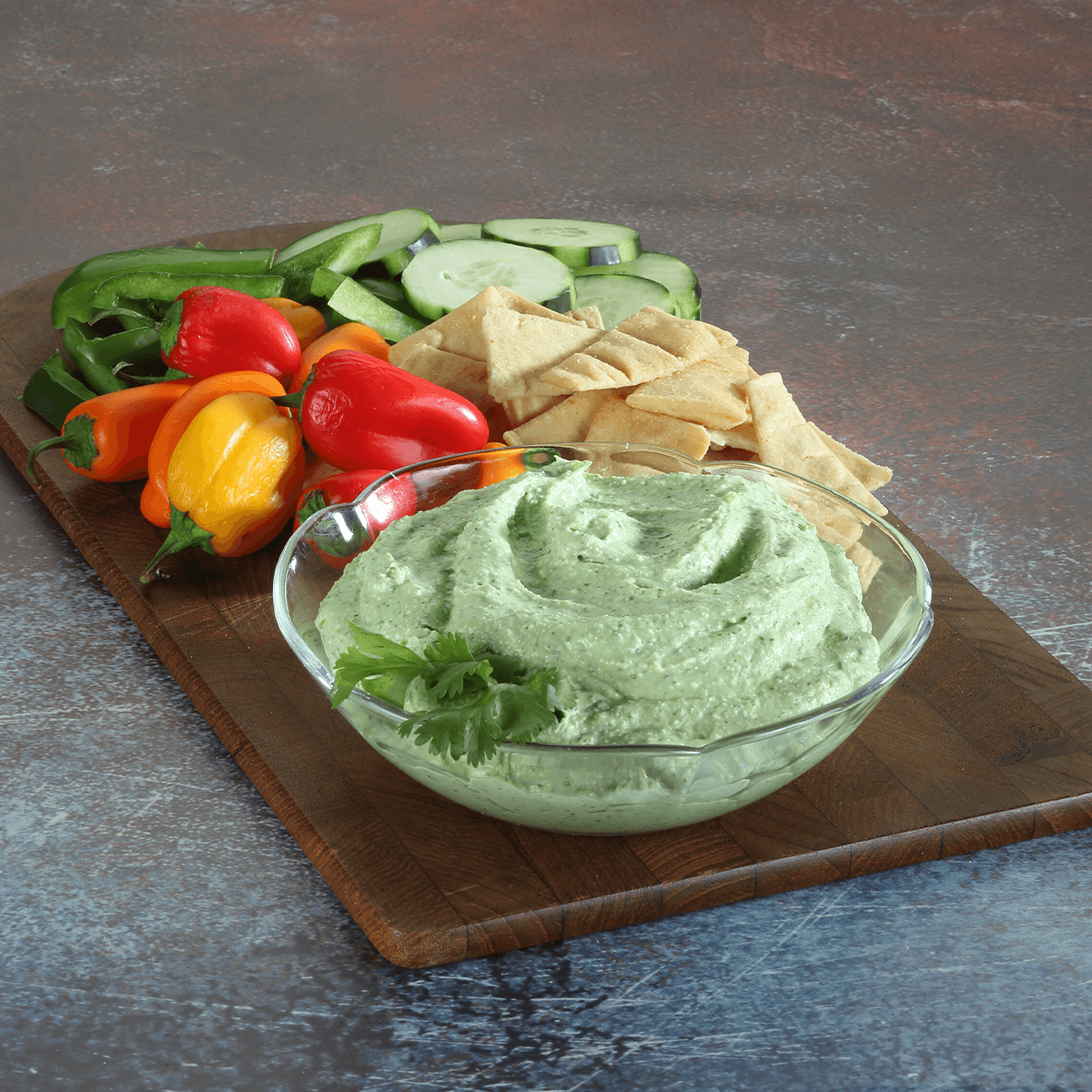 Whipped Cottage Cheese Avocado Dip