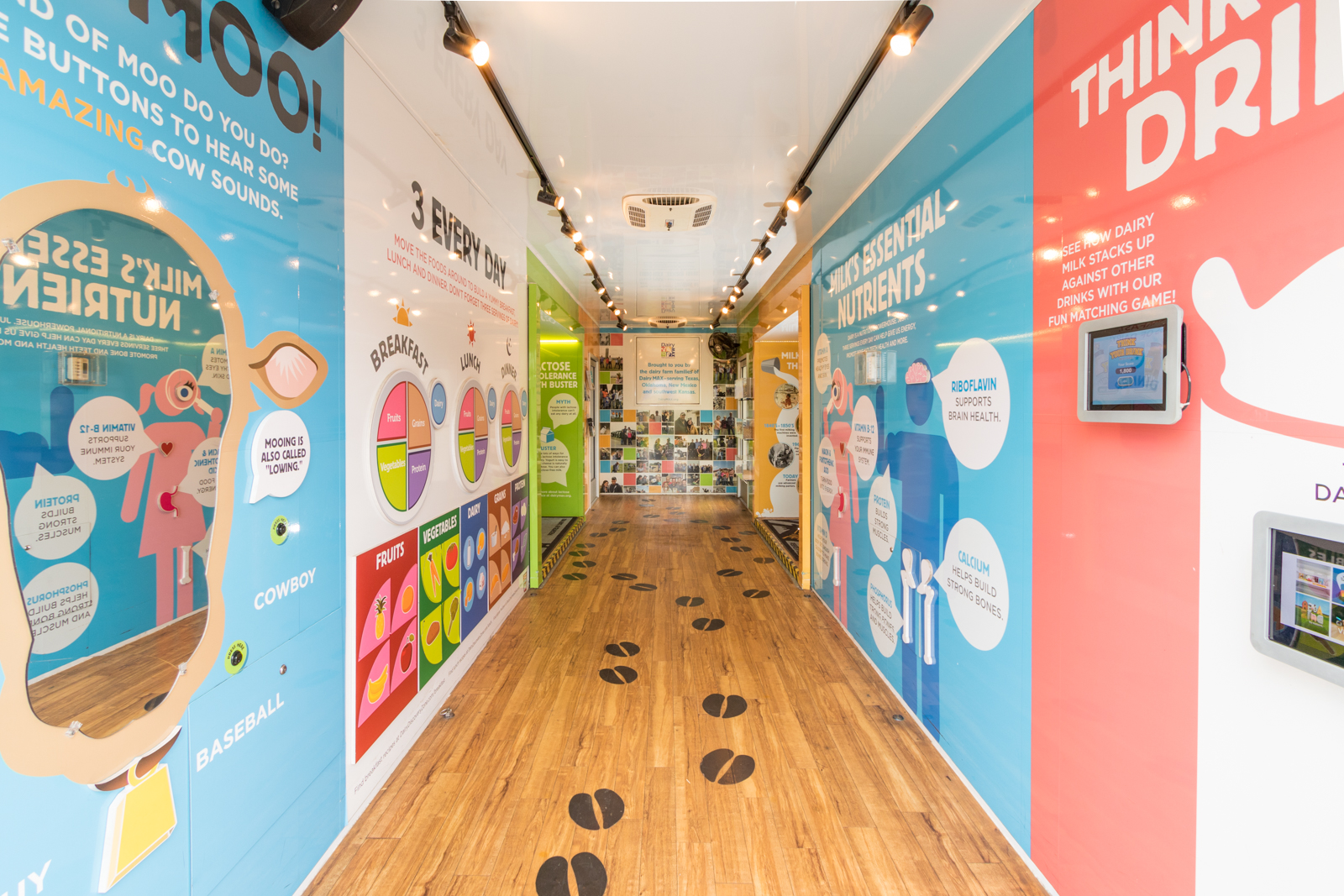 Dairy Discovery Zone Exhibit